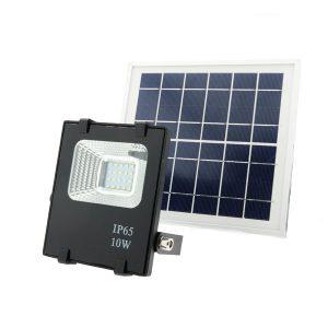 Foco Proyector LED Solar 10W IP65 600lm 6000k