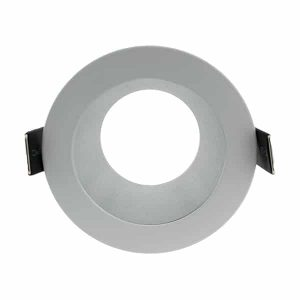 Aro fijo para foco LED ArumLED redondo blanco