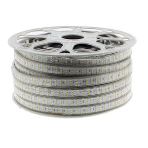 Tira de LED 220v luz blanca fría SMD2835 276LED/m 50m