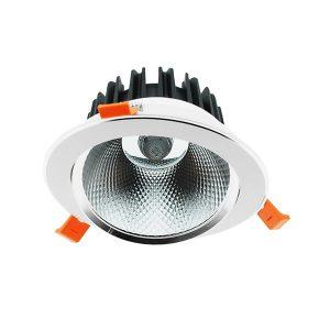 Downlight LED orientable de 25w 6000k COB 2200lm