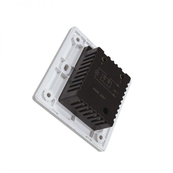 Regulador LED Triac de pared 600W Dimmer AC 220V espalda