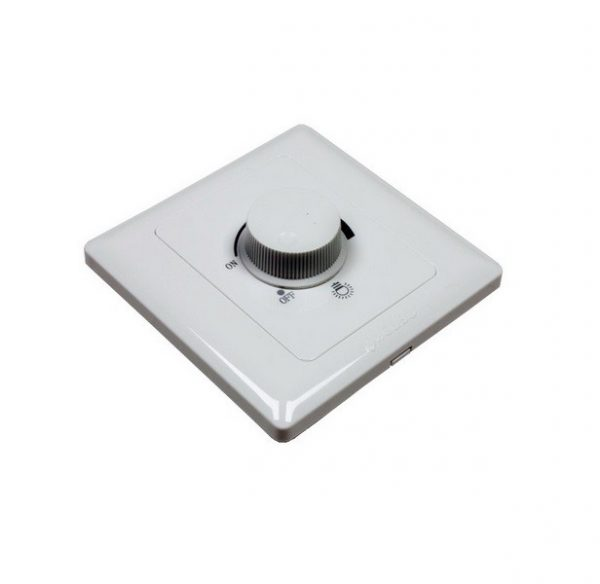Regulador LED Triac de pared 600W Dimmer AC 220V
