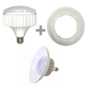 Bombilla LED E27 40w 120º de alta resistencia 6000k 1