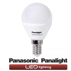 Bombilla LED E14 4w G45 Panasonic en luz cálida o neutra 1