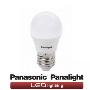 Bombilla LED E27 4w G45 Panasonic en luz cálida o neutra 1