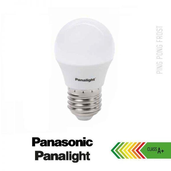 Bombilla LED E27 4w G45 Panasonic en luz cálida o neutra 2