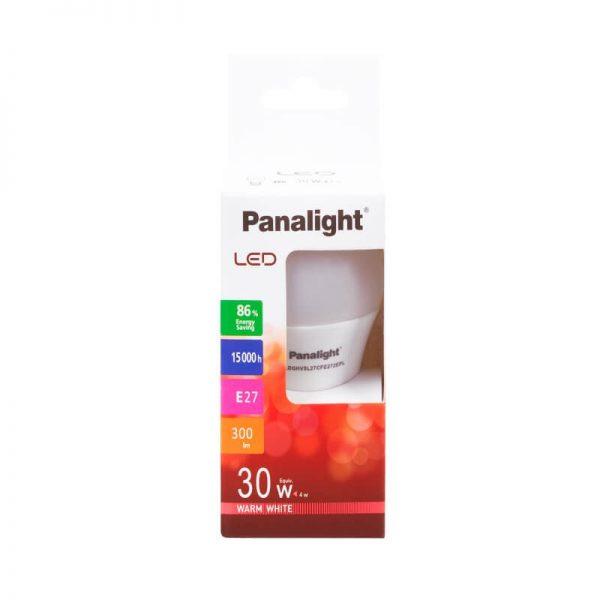 Bombilla LED E27 4w G45 Panasonic en luz cálida o neutra 4