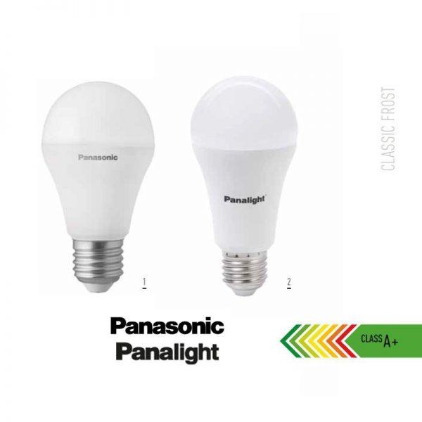 Bombilla LED E27 9w A60 180º Panasonic en luz cálida o neutra 2