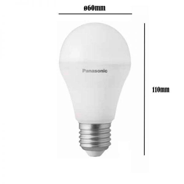 Bombilla LED E27 9w A60 180º Panasonic en luz cálida o neutra 3