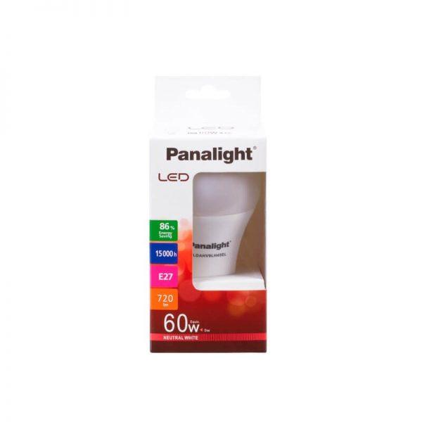 Bombilla LED E27 9w A60 180º Panasonic en luz cálida o neutra 5