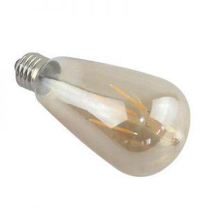 Bombilla LED E27 retro 4w 360º luz cálida 1