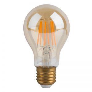 Bombilla LED A60 vintage 4w E27 luz cálida