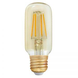 Bombilla LED E27 retro 4w T45 luz cálida