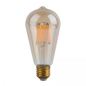 Bombilla LED vintage E27 6w luz cálida