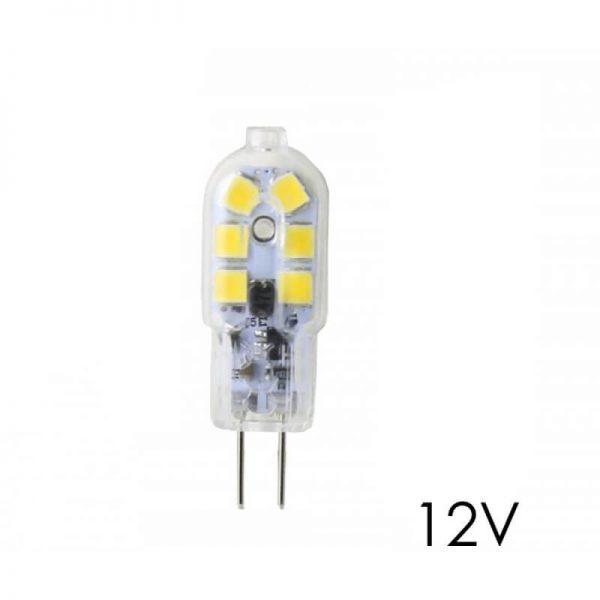 Bombilla LED G4 2,5W luz neutra 4000K 12V