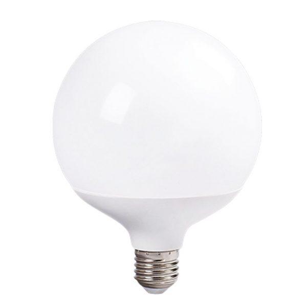 Bombilla LED E27 18w tipo globo en luz fría, neutra o cálida