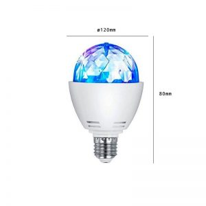 Bombilla LED E27 RGB Disco 3w 1