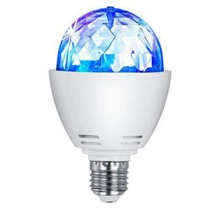 Bombilla LED E27 RGB Disco 3w