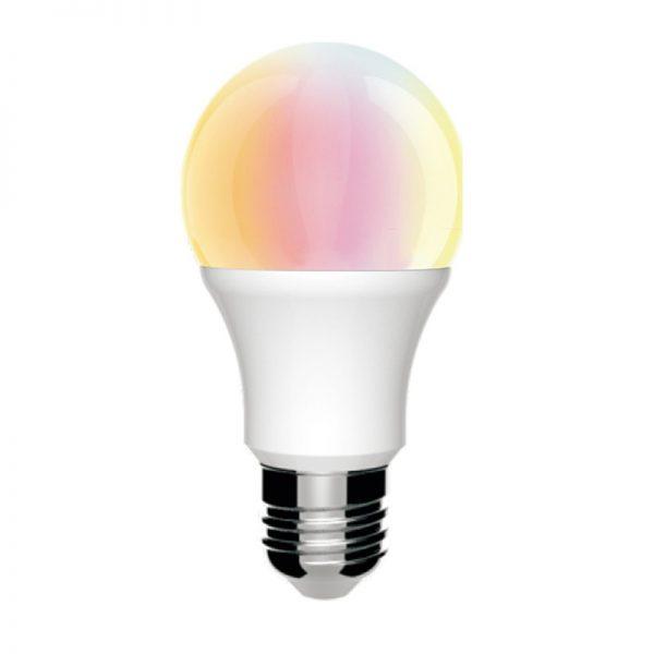 Bombilla LED E27 con mando a distancia RGB 10w 1