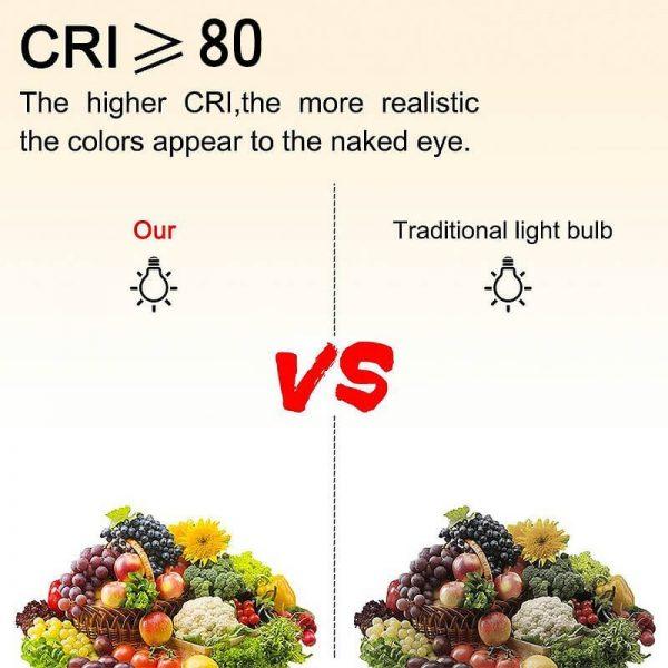 Bombilla LED E27 con mando a distancia RGB 10w 5