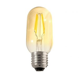 Bombilla LED E27 retro 4w 360º 3000k