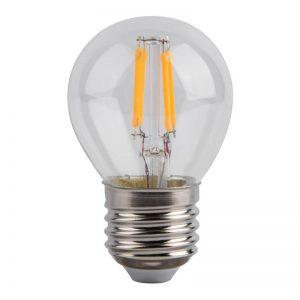 Bombilla LED de filamento pequeña E27 4w G45