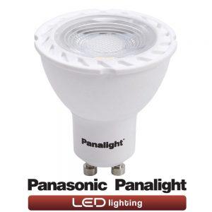 Bombilla dicroica LED GU10 5w Panasonic en cálida o neutra 1