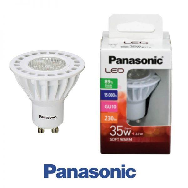 Bombilla LED GU10 7w Panasonic en luz cálida o neutra 1