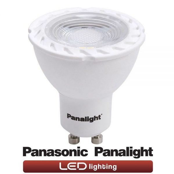 Bombilla LED GU10 7w Panasonic en luz cálida o neutra 2