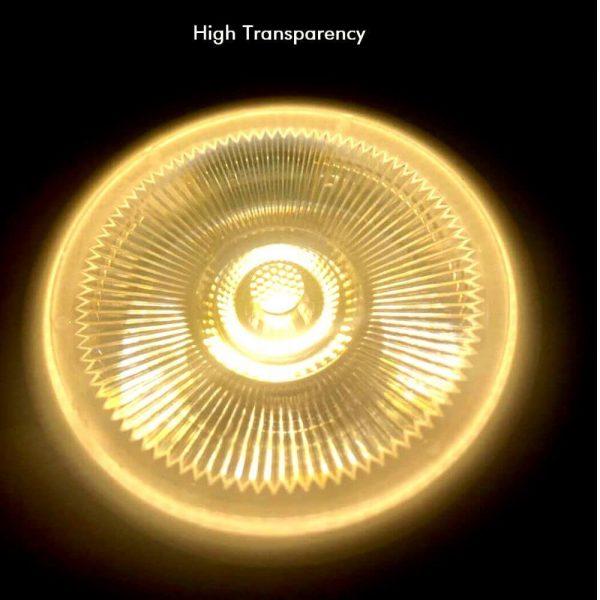 Bombilla LED GU10 cerámica 9w 12º Bridgelux luz cálida, neutra o fría 3