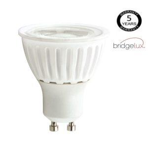 Bombilla LED GU10 cerámica 9w 12º Bridgelux luz cálida, neutra o fría