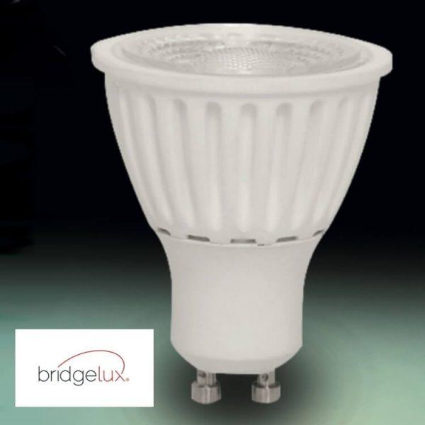 Bombilla LED GU10 cerámica 9w 24º Bridgelux luz cálida, neutra o fría 5