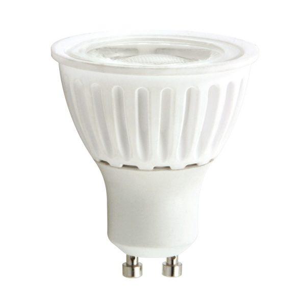 Bombilla LED GU10 cerámica 9w 24º Bridgelux luz cálida, neutra o fría 6