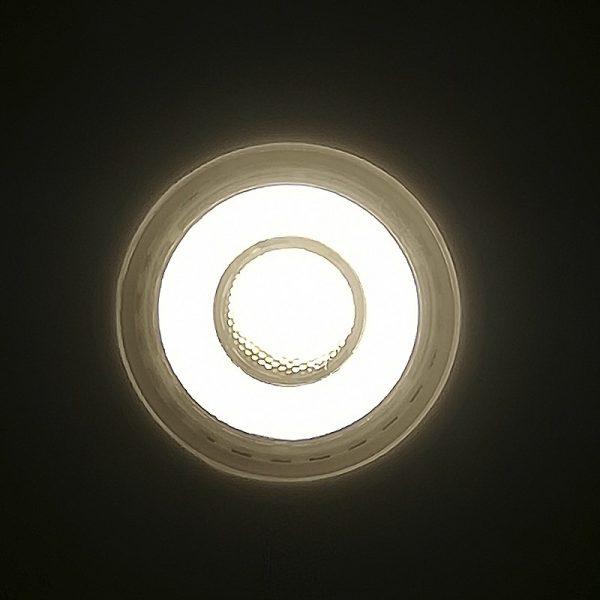 Bombilla LED GU10 cerámica 9w 24º Bridgelux luz cálida, neutra o fría 7