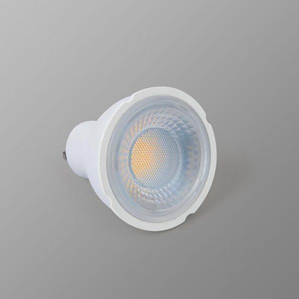 Bombilla LED GU10 6w 38º en luz cálida, neutra o fría 5