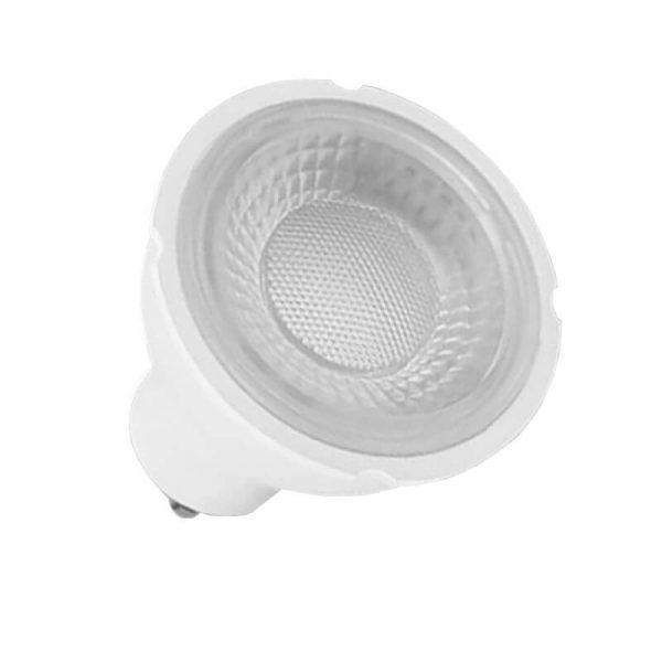 Bombilla LED GU10 6w 38º en luz cálida, neutra o fría
