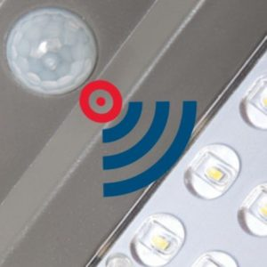 Farola solar con sensor de movimiento 40w Epistar 1
