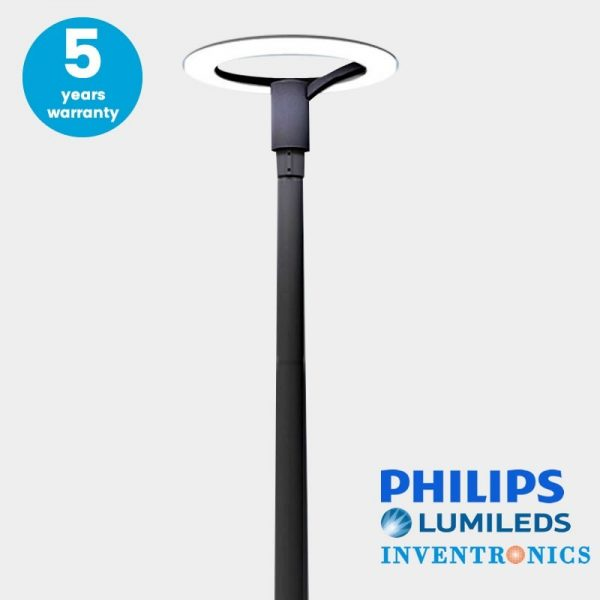 Farola Philips Urban Lumileds 60w luz neutra 160lm/w 2