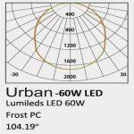 Farola Philips Urban Lumileds 60w luz neutra 160lm/w 3