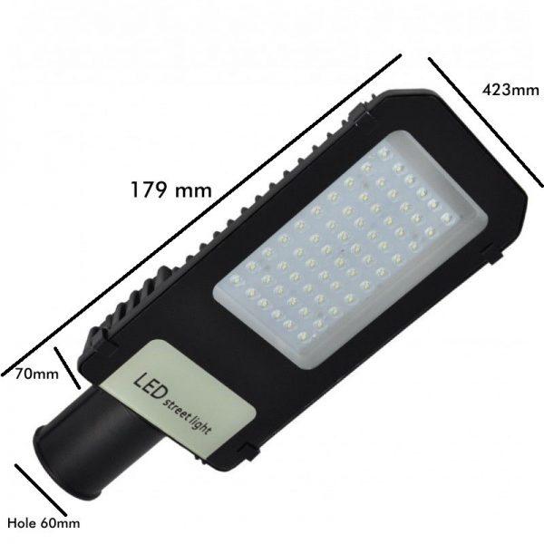 Farola LED 50w 5000lm 120º en luz neutra o fría 11