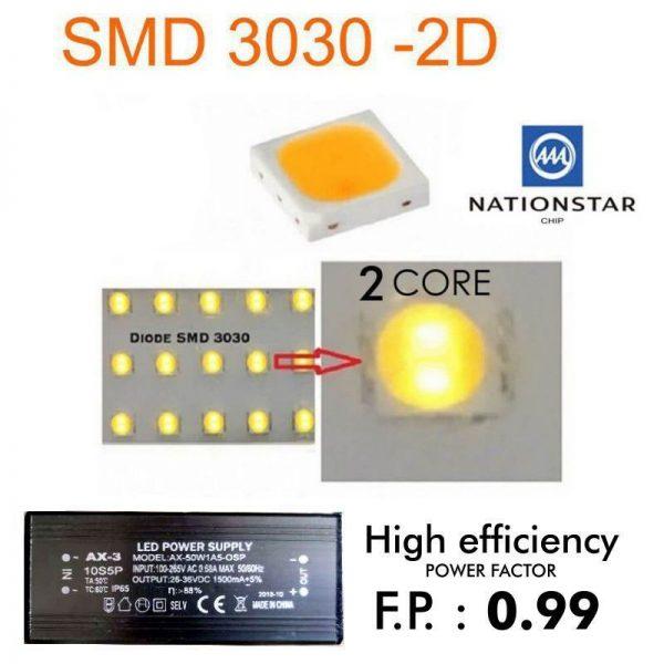 Farola LED 50w 5000lm 120º en luz neutra o fría 4