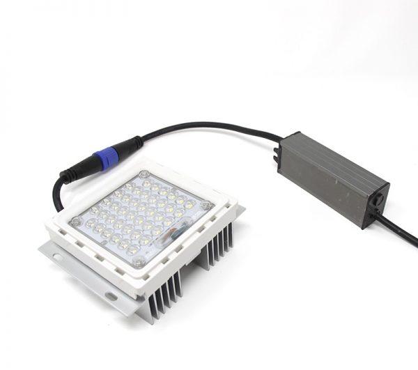 Farola LED estilo clásico 40w Lumileds de acero 1