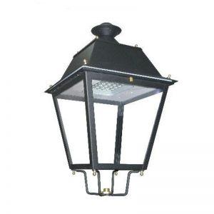 Farola LED estilo clásico 40w Lumileds de acero