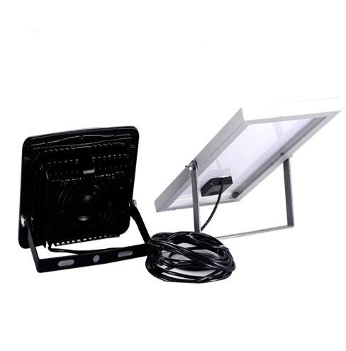 Foco LED solar 10w con mando IP65 6000k 850lm 1