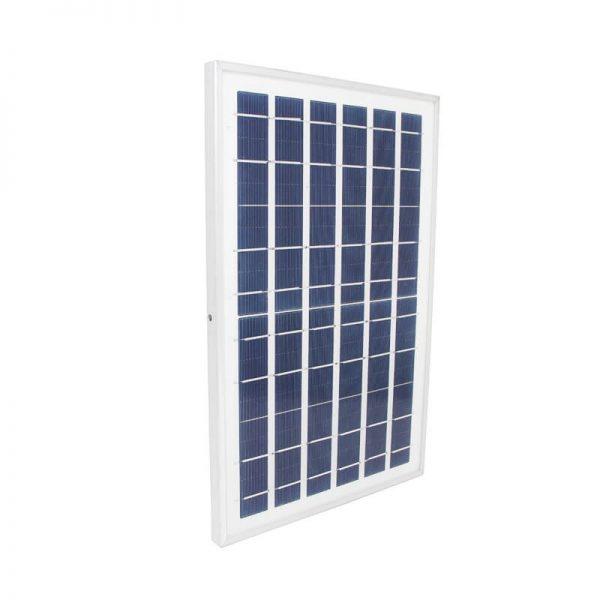 Foco LED solar 10w con mando IP65 6000k 850lm 3