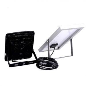 Foco LED solar 30w con mando IP65 6000k 2800lm 1