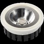 Bombilla LED AR111 20w 60º en luz cálida, neutra o fría