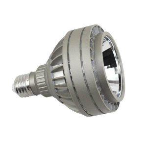 Bombilla LED PAR 26w E27 15º en luz cálida, neutra o fría