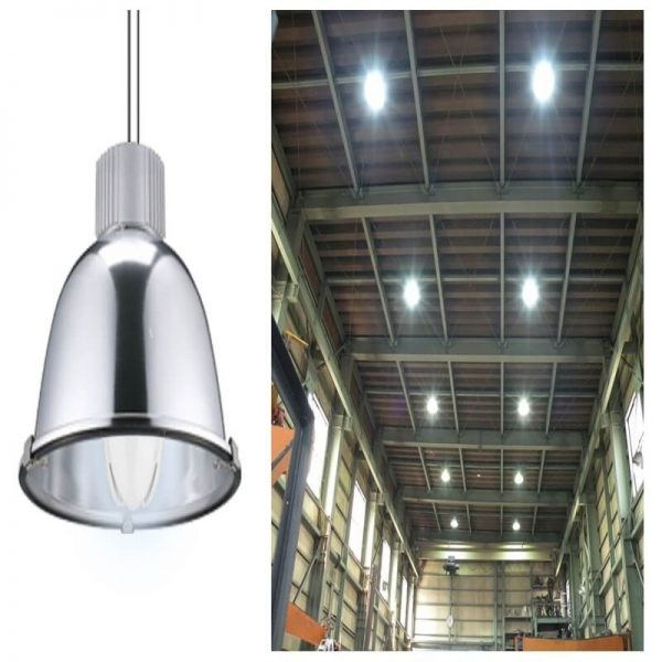 Bombilla LED para farolas de alta resistencia E27 50w 7