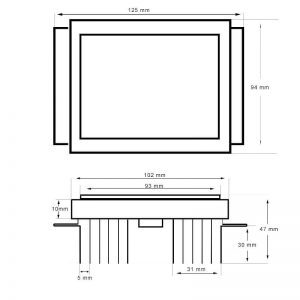 Módulo LED de recambio Lumileds para farolas 1